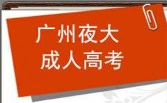 广州夜大学历和成人高考学历一样吗