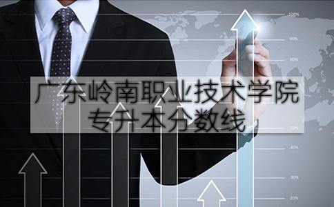 广东岭南职业技术学院专升本分数线
