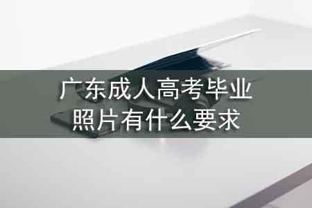 广东成人高考毕业照片有什么要求
