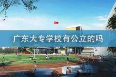 广东大专学校有公立的吗