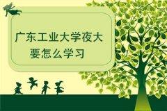 广东工业大学夜大要怎么学习