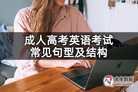 成人高考英语考试常见句型及结构