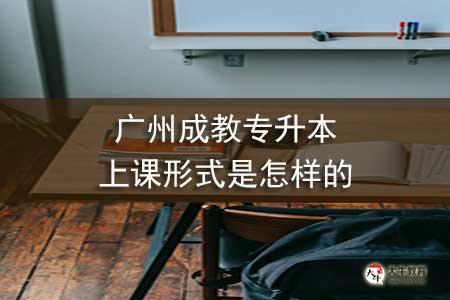 广州成教专升本上课形式是怎样的-第1张图片-专升本网