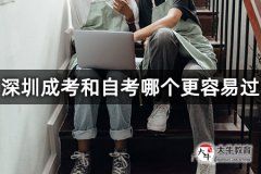 深圳成考和自考哪个更容易过