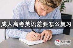 成人高考英语差要怎么复习