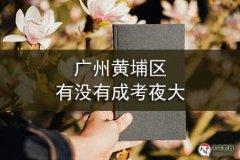广州黄埔区有没有成考夜大