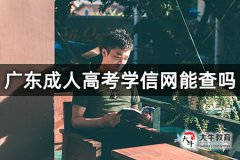 广东成人高考学信网能查吗