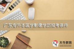广东专升本医学影像学历报考条件