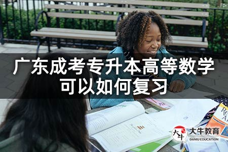 广东成考专升本高等数学可以如何复习