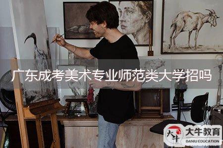 广东成考美术专业师范类大学招吗