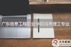 广东信息工程职业学院成人大专理工类专业