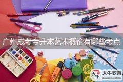 广州成考专升本艺术概论有哪些考点