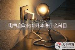 电气自动化专升本考什么科目